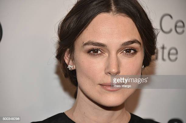 Actress Keira Knightley attends 'An Evening Honoring Valentino' Lincoln Center Corporate Fund Gala at Alice Tully Hall at Lincoln Center on December...