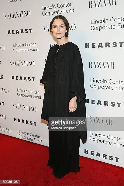 Actress Keira Knightley attends 'An Evening Honoring Valentino' Lincoln Center Corporate Fund Gala Inside Arrivals at Alice Tully Hall at Lincoln...