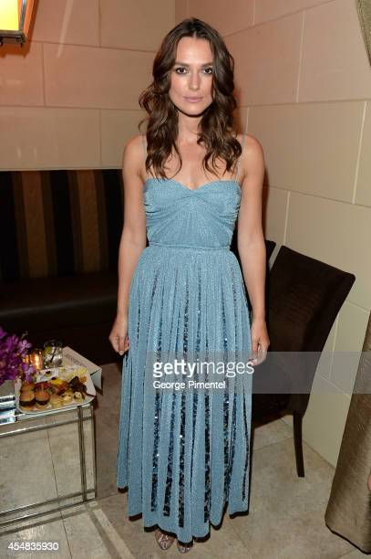 Actress Keira Knightley attends HFPA InStyle's 2014 TIFF Celebration at the Windsor Arms Hotel on September 5 2014 in Toronto Canada