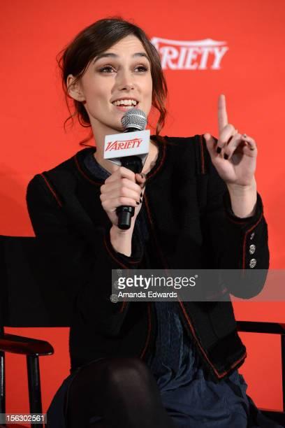 Actress Keira Knightley attends the 2012 Variety Screening Series of 'Anna Karenina' at Mann Chinese 6 on November 12 2012 in Los Angeles California