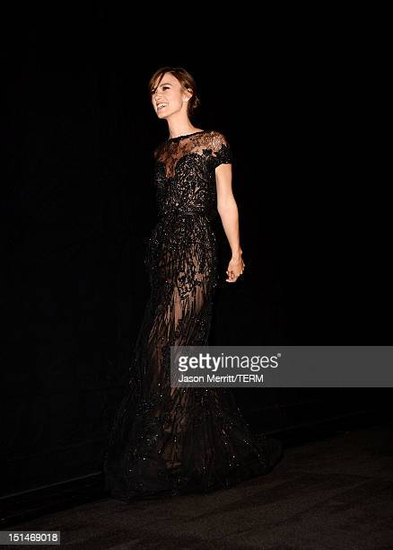 Actress Keira Knightley attends the Anna Karenina premiere during the 2012 Toronto International Film Festival at The Elgin on September 7 2012 in...