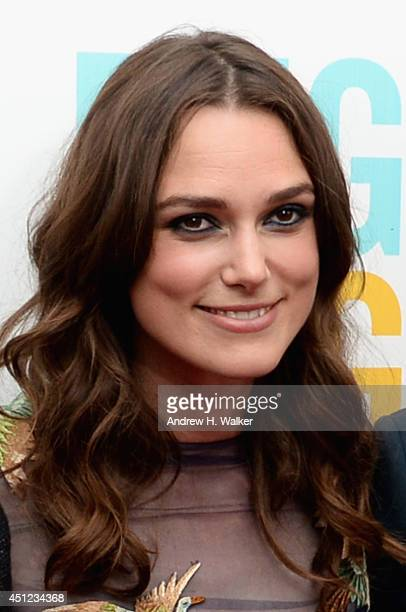 """Actress Keira Knightley attends the """"Begin Again"""" premiere at SVA Theater on June 25, 2014 in New York City."""