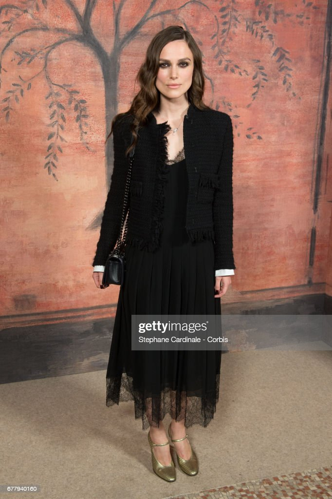 Actress Keira Knightley attends the Chanel Cruise 2017/2018 Collection