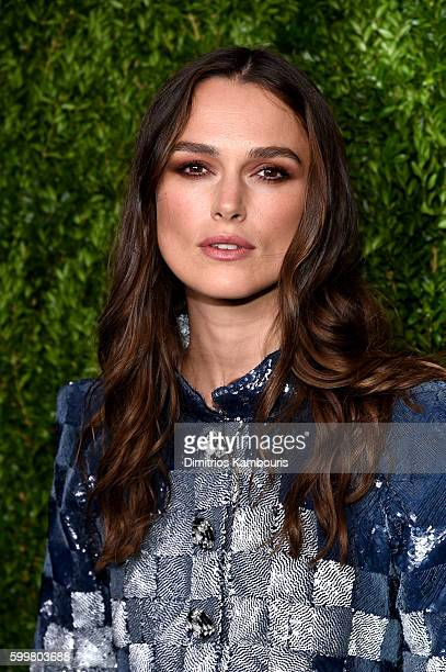 Actress Keira Knightley attends the CHANEL Fine Jewelry Dinner in honor of Keira Knightley at The Jewel Box Bergdorf Goodman on September 6 2016 in...