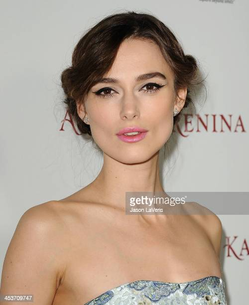 Actress Keira Knightley attends the premiere of Anna Karenina at ArcLight Hollywood on November 14 2012 in Hollywood California