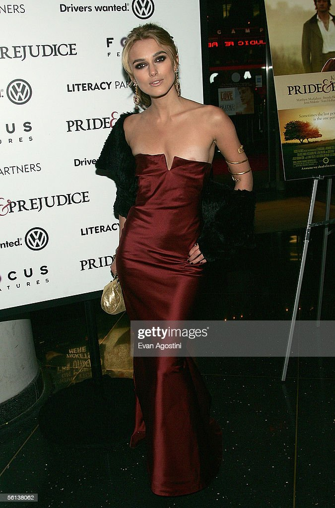 "Focus Features Premiere Of ""Pride & Prejudice"" - Arrivals"