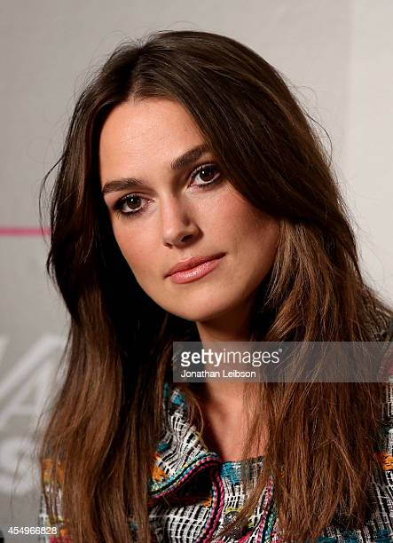 Actress Keira Knightley attends the Variety Studio presented by Moroccanoil at Holt Renfrew during the 2014 Toronto International Film Festival on...