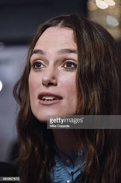 Actress Keira Knightley attends 'Therese Raquin' Broadway Opening Night at Studio 54 on October 29 2015 in New York City