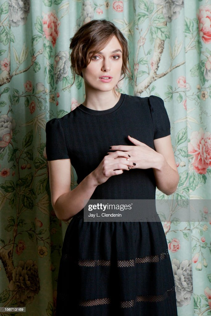Actress Keira Knightley is photographed for Los Angeles Times on November 15, 2012 in Los Angeles, California. PUBLISHED IMAGE.