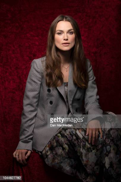 Actress Keira Knightley is photographed for USA Today on September 15 2018 in Los Angeles California PUBLISHED IMAGE