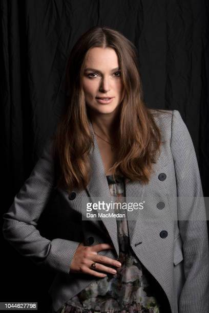 Actress Keira Knightley is photographed for USA Today on September 15 2018 in Los Angeles California