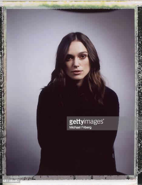 Actress Keira Knightley is photographed for Variety on January 18 2014 in Park City Utah
