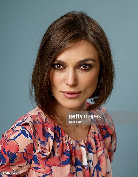 Actress Keira Knightley of 'A Dangerous Method' poses for a portrait during the 2011 Toronto Film Festival at the Guess Portrait Studio on September...
