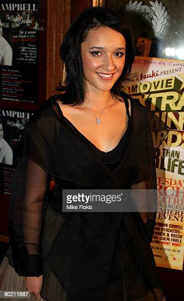 Actress Keisha CastleHughes arrives at the 2008 Movie Extra FilmInk Awards at the State Theatre on March 12 2008 in Sydney Australia The 5th annual...