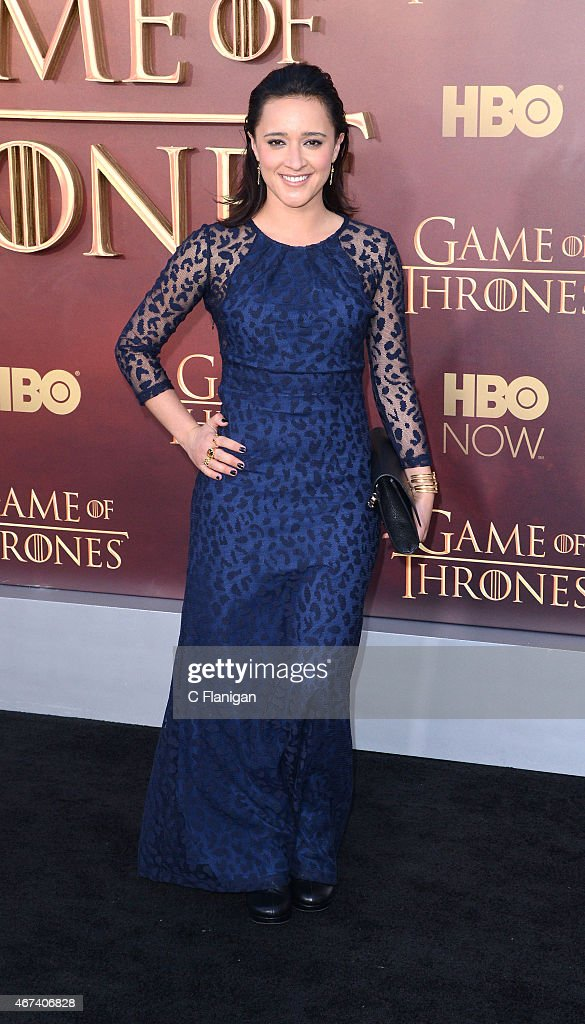 Actress Keisha Castle-Hughes attends HBO's 'Game of Thrones' Season 5 Premiere at the San Francisco War Memorial Opera House on March 23, 2015 in San Francisco, California.
