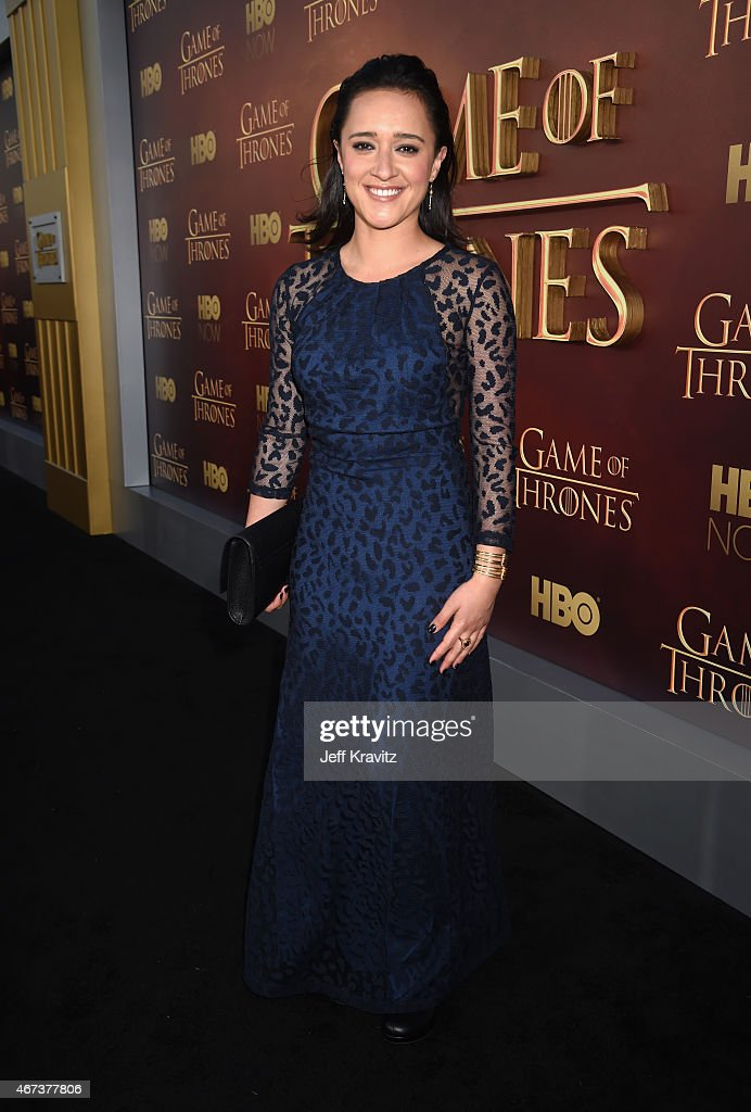 Actress Keisha Castle-Hughes attends HBO's 'Game of Thrones' Season 5 Premiere and After Party at the San Francisco Opera House on March 23, 2015 in San Francisco, California.
