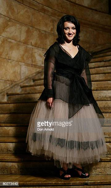 Actress Keisha CastleHughes poses at the 2008 Movie Extra FilmInk Awards at the State Theatre on March 12 2008 in Sydney Australia The 5th annual...