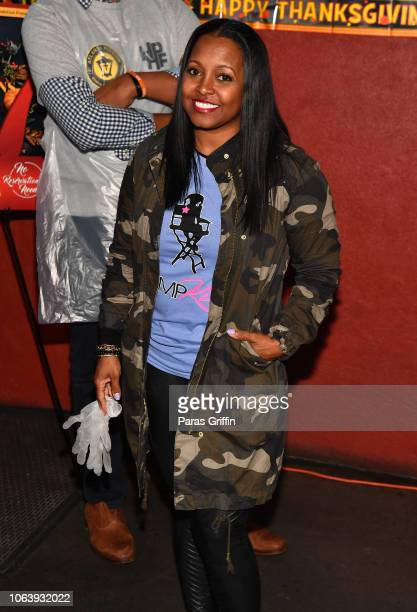 Actress Keisha Knight Pulliam attends 2018 No Reservations Needed Thanksgiving Dinner at The Shepherds Inn on November 20 2018 in Atlanta Georgia