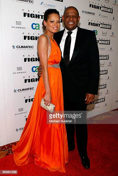 Actress Keisha Whitaker and actor Forest Whitaker arrive at Muhammad Ali's Celebrity Fight Night XV held at the JW Marriott Desert Ridge Resort Spa...