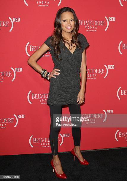 Actress Keisha Whitaker attends the Belvedere Red special edition GRAMMY party at Avalon on February 9 2012 in Hollywood California