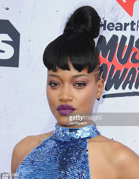Actress Keke Palmer arrives at iHeartRadio Music Awards on April 3 2016 in Inglewood California