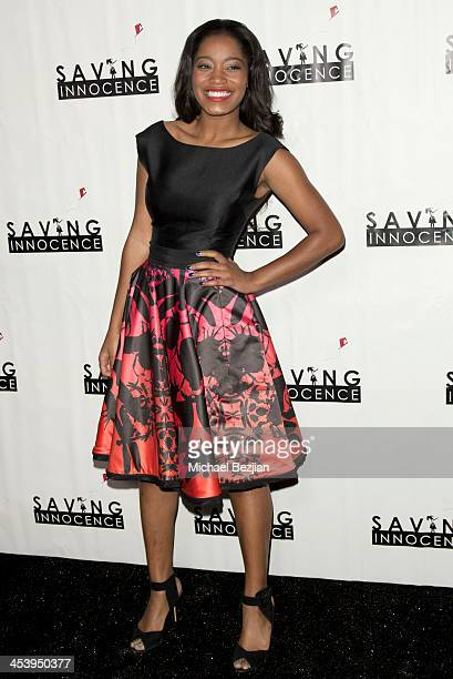 Actress Keke Palmer arrives at the 2nd Annual Saving Innocence Gala Hosted By Kellan Lutz And Keke Palmer Arrivals at The Crossing on December 5 2013...