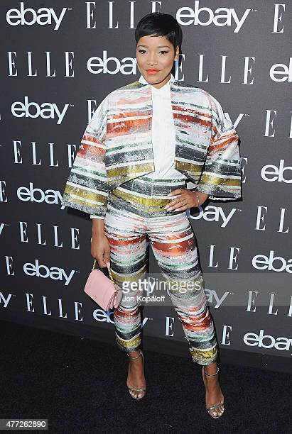 Actress Keke Palmer arrives at the 6th Annual ELLE Women In Music Celebration Presented by eBay at Boulevard3 on May 20 2015 in Hollywood California