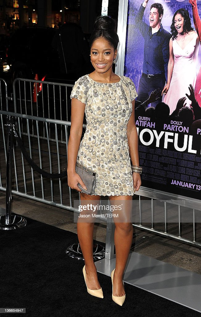 Actress Keke Palmer arrives at the premiere of Warner Bros. Pictures' 'Joyful Noise' held at Grauman's Chinese Theatre on January 9, 2012 in Hollywood, California.