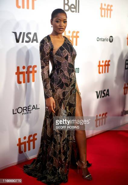 Actress Keke Palmer arrives for the premiere of Hustlers during the 2019 Toronto International Film Festival Day 3 on September 7 in Toronto Ontario
