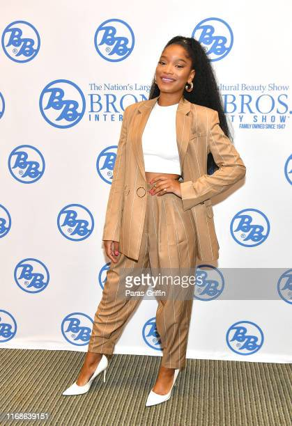 Actress KeKe Palmer attends 2019 Bronner Brothers International Beauty Show at the Georgia World Congress Center on August 17 2019 in Atlanta Georgia