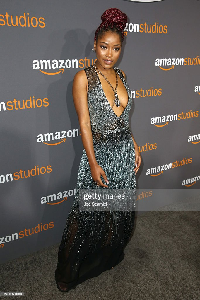 Actress Keke Palmer attends Amazon Studios Golden Globes Celebration at The Beverly Hilton Hotel on January 8, 2017 in Beverly Hills, California.