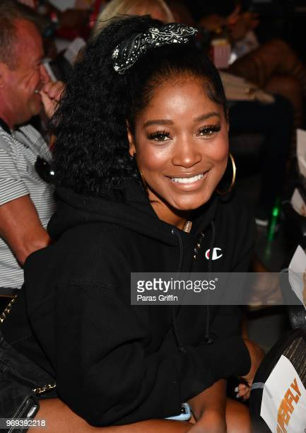 Actress KeKe Palmer attends Columbia Pictures Superfly Atlanta special screening on June 7 2018 at SCADShow in Atlanta Georgia