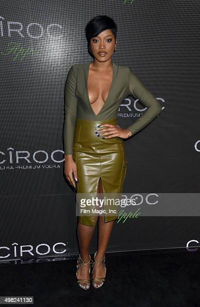 Actress Keke Palmer attends Sean Diddy Combs Exclusive Birthday Celebration Presented By CIROC Vodka on November 22 2015 in Beverly Hills California