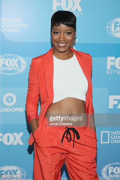 Actress Keke Palmer attends the 2015 FOX programming presentation at Wollman Rink in Central Park on May 11 2015 in New York City