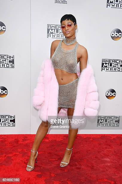 Actress Keke Palmer attends the 2016 American Music Awards at Microsoft Theater on November 20 2016 in Los Angeles California