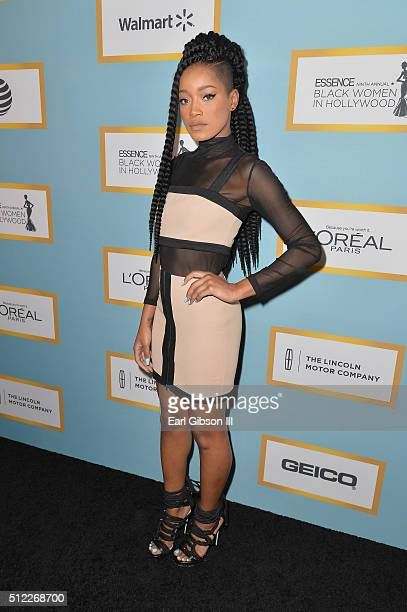 Actress Keke Palmer attends the 2016 ESSENCE Black Women In Hollywood awards luncheon at the Beverly Wilshire Four Seasons Hotel on February 25 2016...