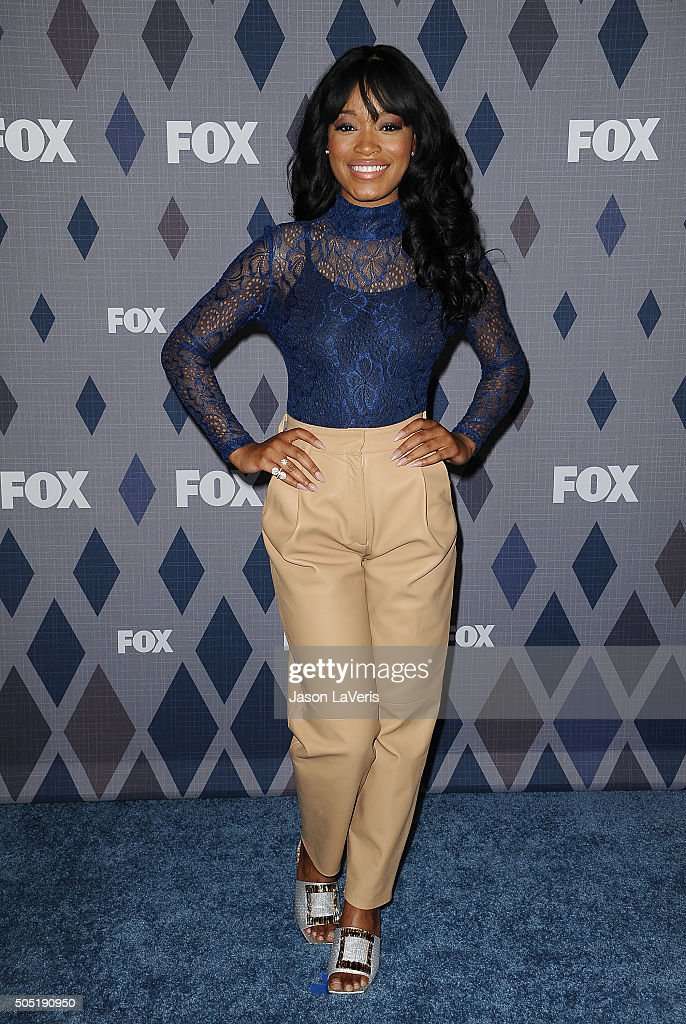 Actress Keke Palmer attends the FOX winter TCA 2016 All-Star party at The Langham Huntington Hotel and Spa on January 15, 2016 in Pasadena, California.
