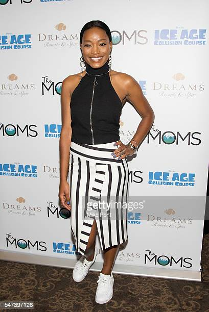 "Actress Keke Palmer attends the Mamarazzi screening of ""Ice Age: Collision Course"" at Dolby 88 Theater on July 14, 2016 in New York City."