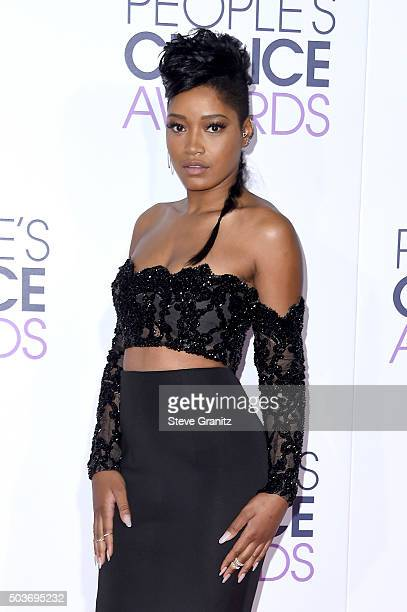 Actress Keke Palmer attends the People's Choice Awards 2016 at Microsoft Theater on January 6 2016 in Los Angeles California