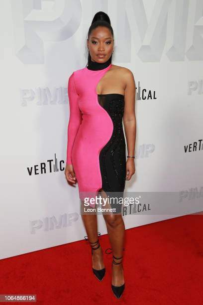Actress Keke Palmer attends the premiere of Vertical Entertainment's Pimp at Pacific Theaters at The Grove on November 07 2018 in Los Angeles...