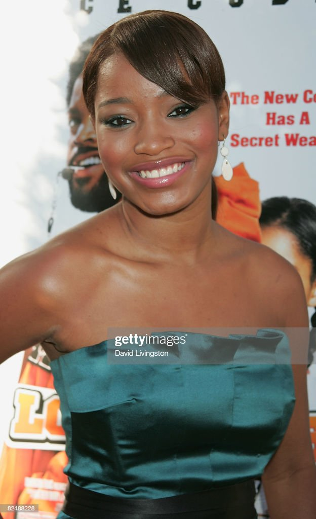 Actress Keke Palmer attends the world premiere of the Weinstein Company's 'The Longshots' at the Majestic Crest Theatre on August 20, 2008 in Westwood, California.
