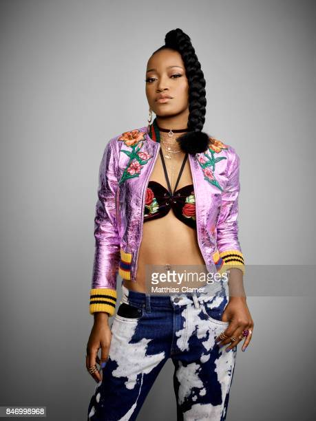 Actress Keke Palmer from 'Scream Queens'is photographed for Entertainment Weekly Magazine on July 22 2016 at Comic Con in the Hard Rock Hotel in San...