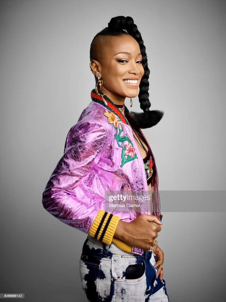 Actress Keke Palmer from 'Scream Queens'is photographed for Entertainment Weekly Magazine on July 22, 2016 at Comic Con in the Hard Rock Hotel in San Diego, California.