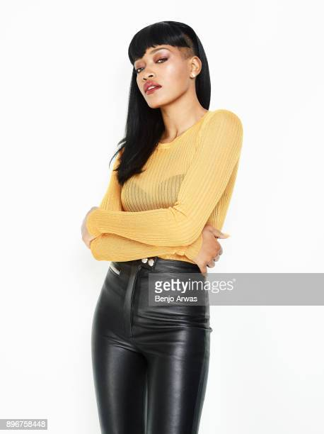 Actress Keke Palmer is photographed for Book Shoot on March 1 2016 in Los Angeles California