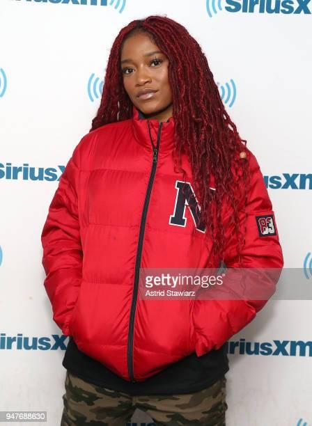 Actress Keke Palmer visits the SiriusXM studios on April 17 2018 in New York City