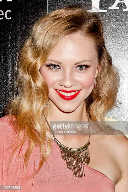 Actress Kelcie Stranahan attends the 'Cybergeddon' Los Angeles premiere at Pacfic Design Center on September 24 2012 in West Hollywood California