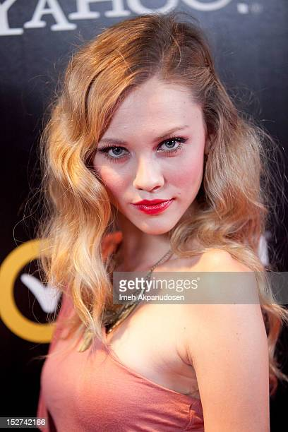 Actress Kelcie Stranahan attends the premiere of 'Cybergeddon' at Pacfic Design Center on September 24 2012 in West Hollywood California