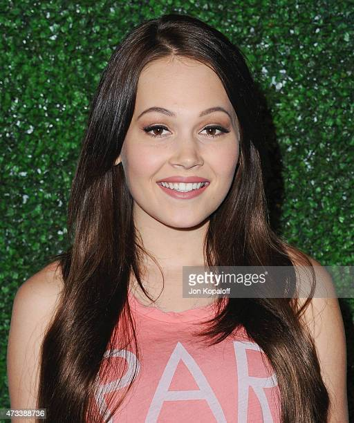 Actress Kelli Berglund arrives at Knott's Berry Farm Launches Voyage To The Iron Reef at Knott's Berry Farm on May 14 2015 in Buena Park California