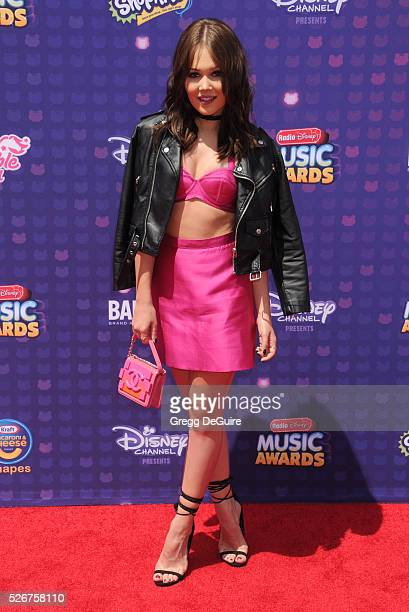 Actress Kelli Berglund arrives at the 2016 Radio Disney Music Awards at Microsoft Theater on April 30, 2016 in Los Angeles, California.