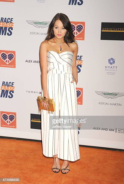 Actress Kelli Berglund arrives at the 22nd Annual Race To Erase MS at the Hyatt Regency Century Plaza on April 24 2015 in Century City California